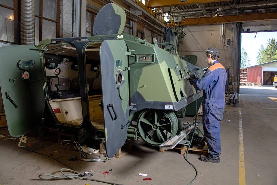 Nokian-Metallirakenne-Metallirakenteet-teräksestä-ja-alumiinista-Puolustusvoimille
